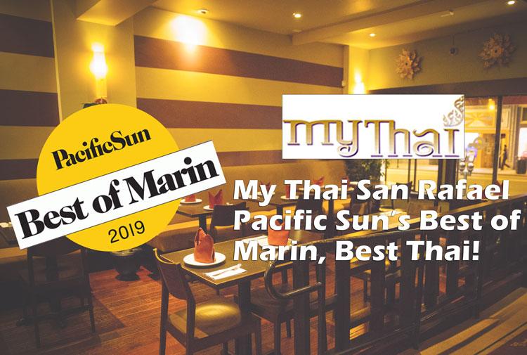 Pacific Sun's Best of Marin's Best Thai