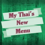 My Thai's New Menu