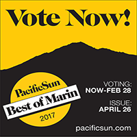 Pacific Sun Best of Marin 2017 Readers' Poll