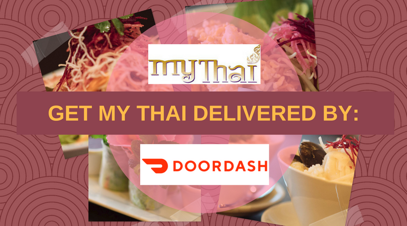 My Thai delivery through DoorDash