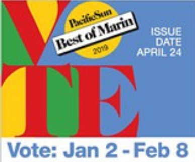 Pacific Sun Best of Marin 2019 Readers' Poll